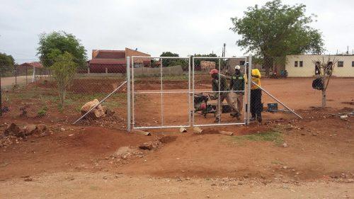 Veilige omgeving voor Boikhotso ELC in Namakgale