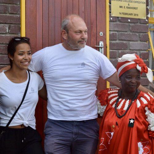 Officiële opening Boitumelo school in Namakgale