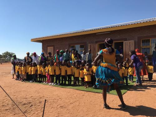 Bangana ELC officieel geopend door Chief Ntsanwisi