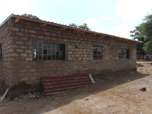 Ringetani school repaired after the storm